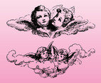 Vintage Cupids Graphics
