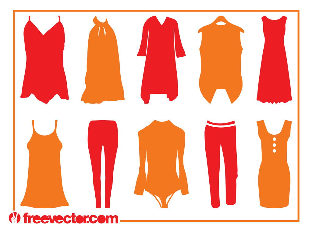 Clothing Silhouettes