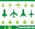 Military Planes Icons