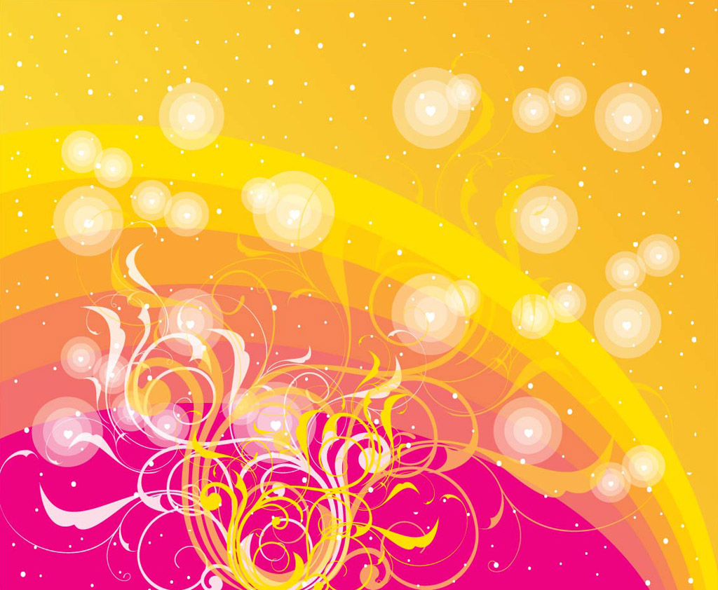 Free Vector Swirls Design
