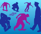 Skateboard Vector Graphics