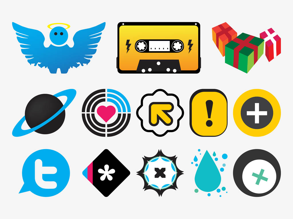Colorful Vector Icons