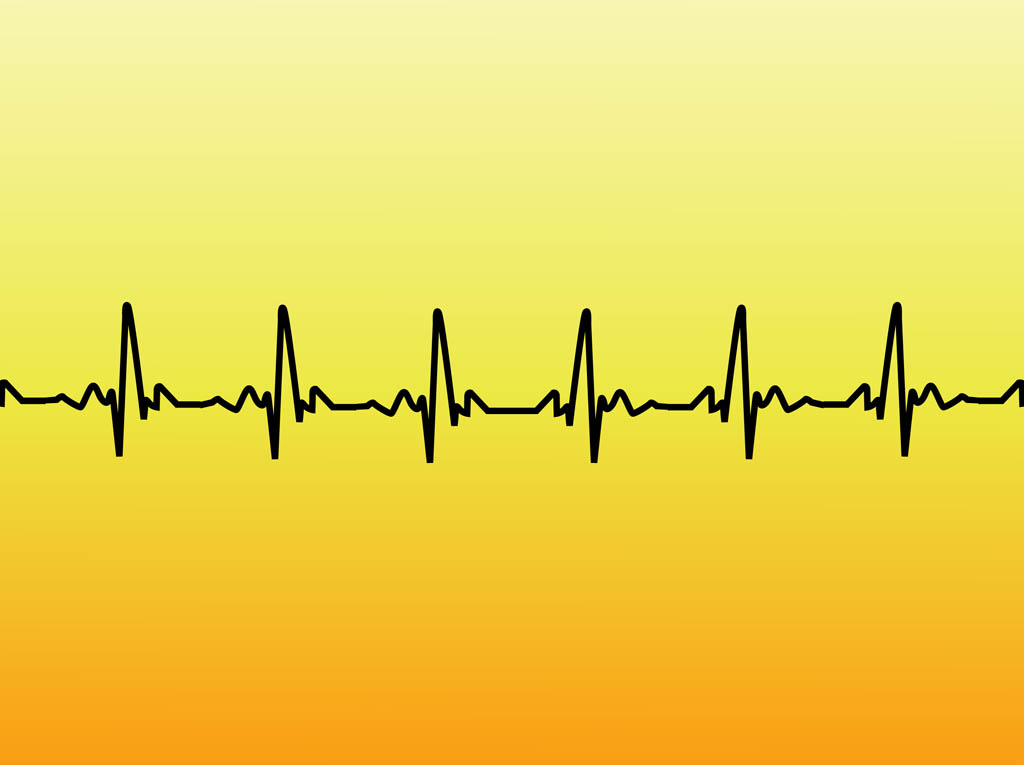 The gallery for --> Pulse Line Vector