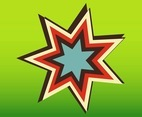 Retro Star Icon