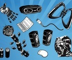 Cool Gadgets Vectors