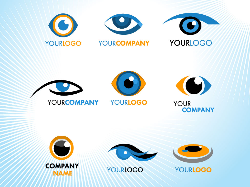 Eye LogosOptical Logo Vector