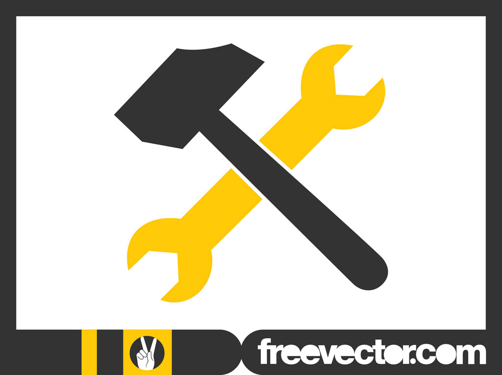 tools icon graphics vector art amp graphics freevectorcom