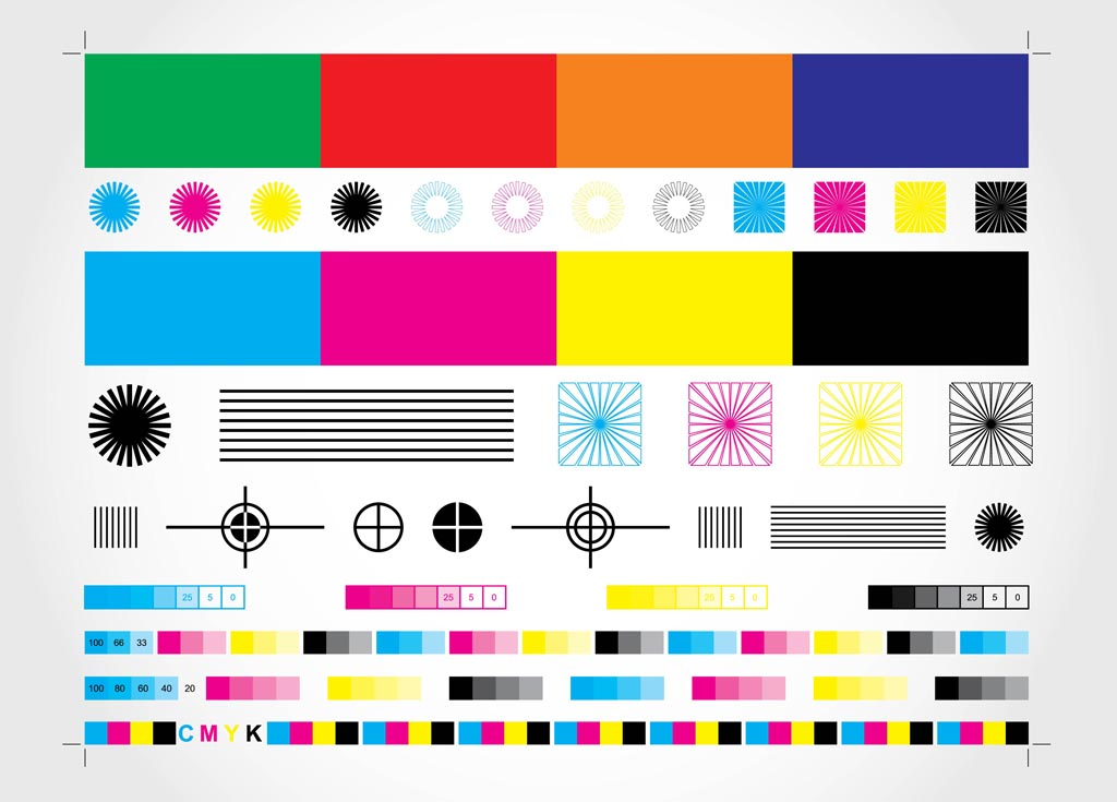 Cmyk Chart Vector Art  Graphics  FreevectorCom