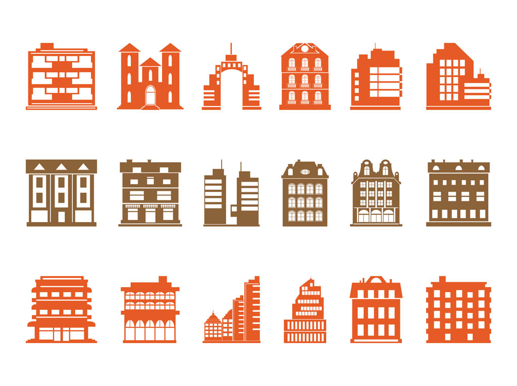 Free Apartment Building Vector