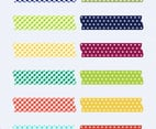 Free Vector Washi Tape Pack