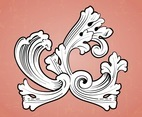 Antique Vector Ornament
