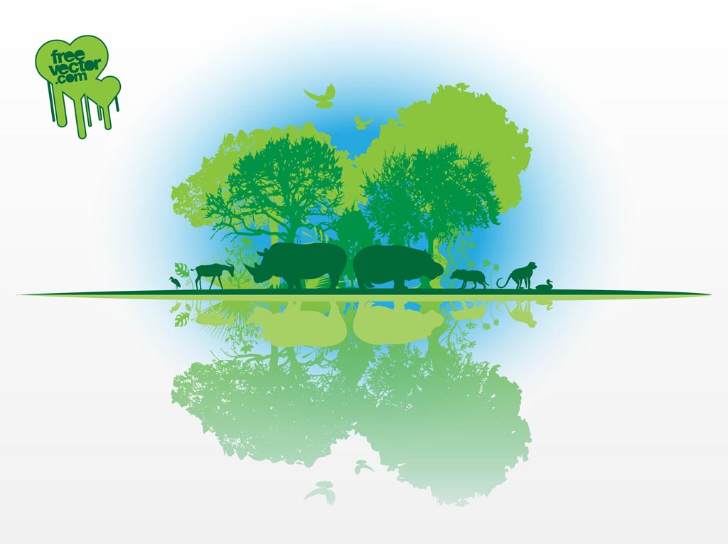 African Nature Vector