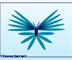 Exotic Butterfly Vector