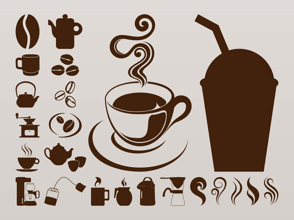 coffee icons graphics Coffee Clip Art Coffee Cup Clip Art