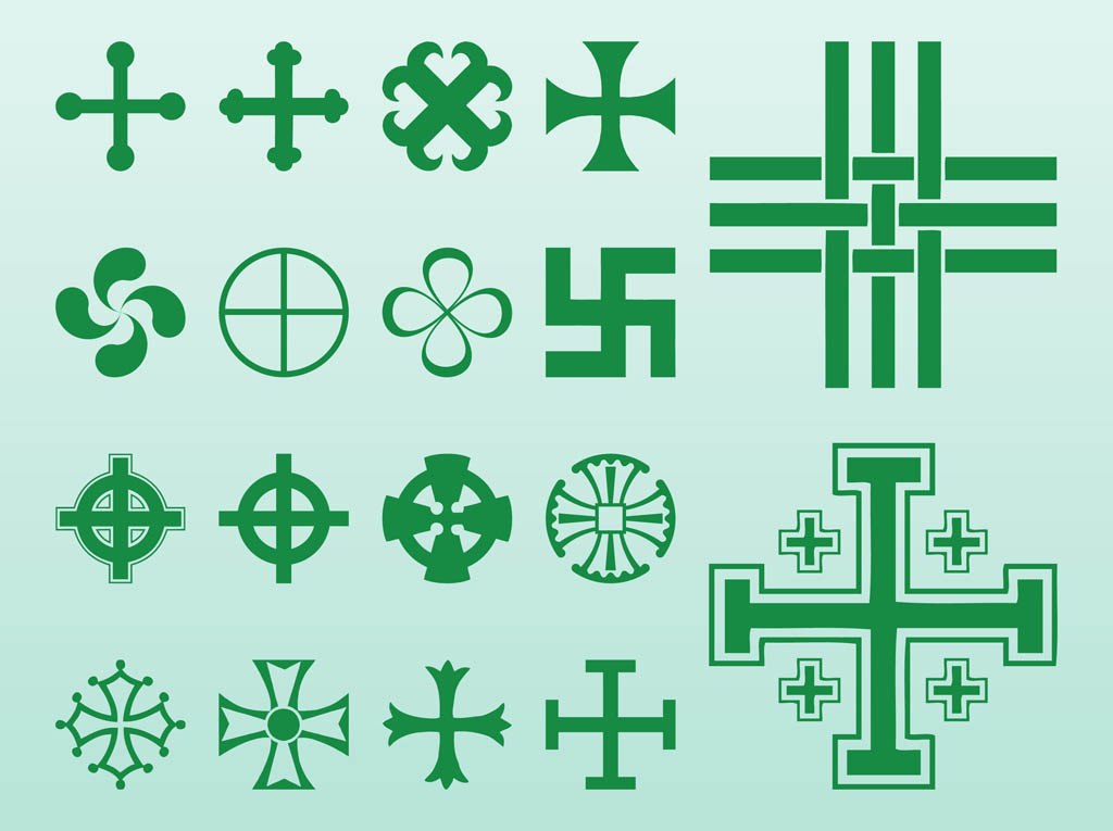 Crosses And Symbols