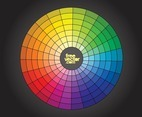 Free Color Wheel Vector