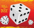 Gambling Dice Vector