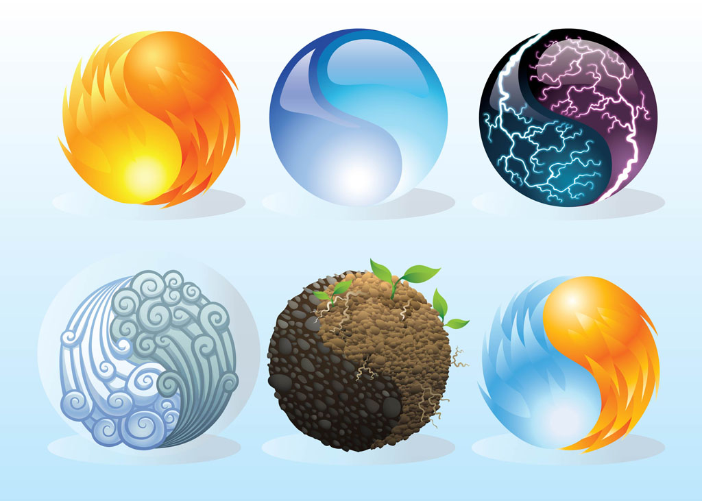 Elements Icons Vector Art Graphics Freevector