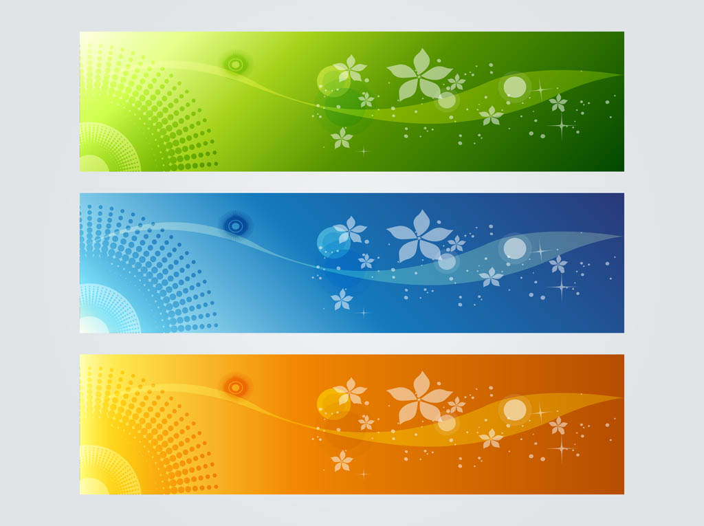 Colorful Banner Graphics Vector Art & Graphics ...