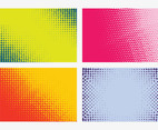 Vector Halftone Backgrounds