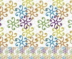 Stylized Flower Pattern