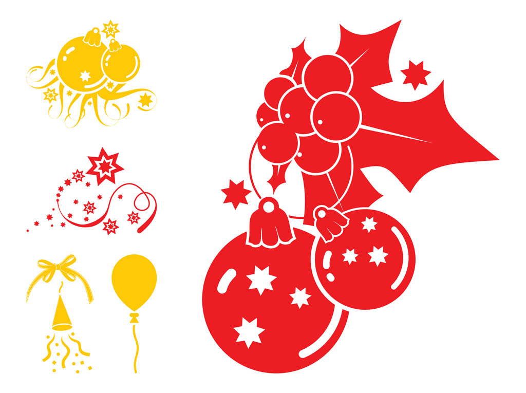 Christmas Decorations Graphics