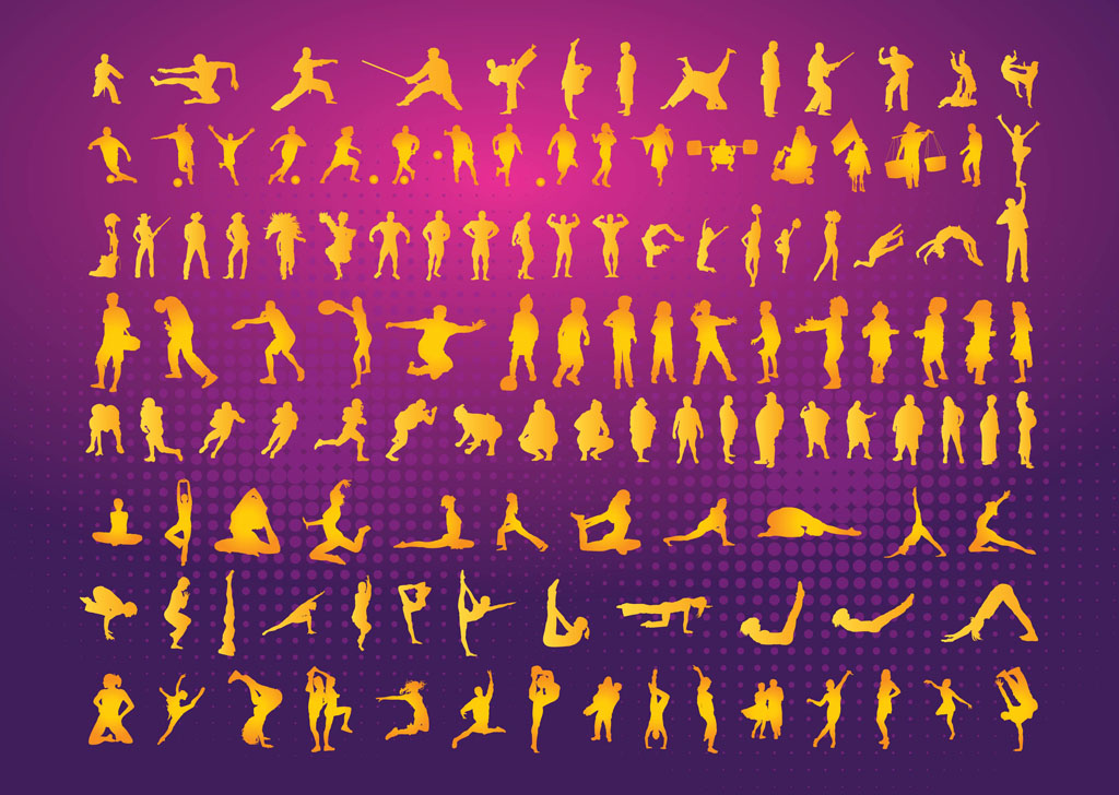 Silhouettes Clipart