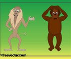 Cartoon Monkeys