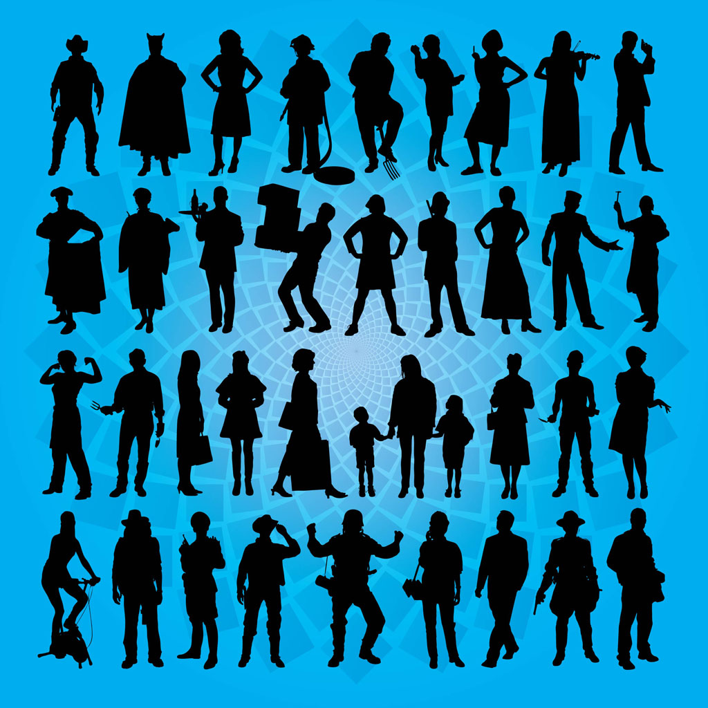 People vector art