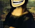 Troll Face Girl Vector