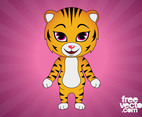 Tiger Cartoon Character