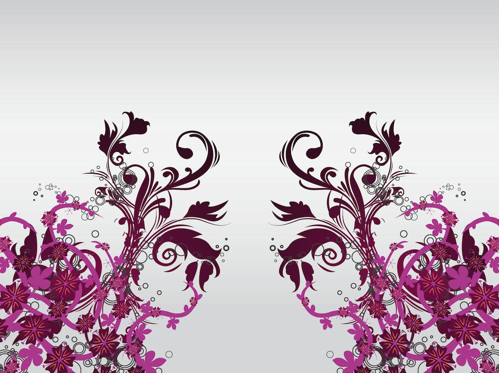 Floral Decorations floral decoration vector art vector art & graphics | freevector
