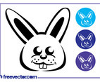 Bunny Icon Set