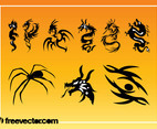 Tattoos Vector Graphics