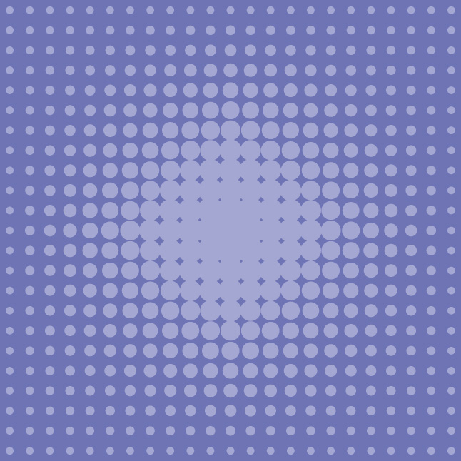 Purple Halftone Vector