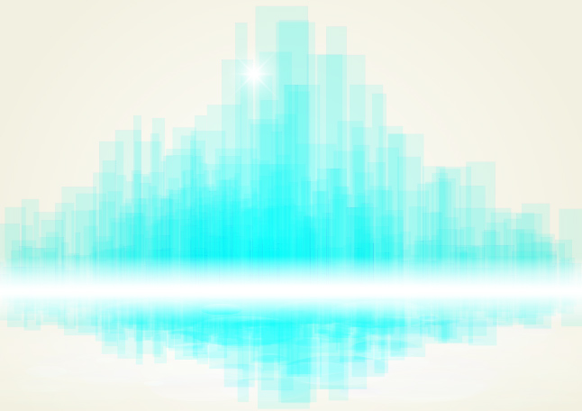 Blurred City Vector Background