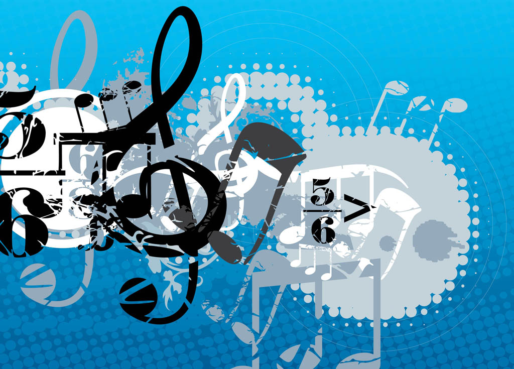 Learn To Write Music - The Required Steps To Publish Good Songs FreeVector-Music-Composition