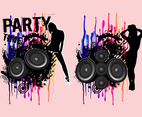 Party Girls Vectors