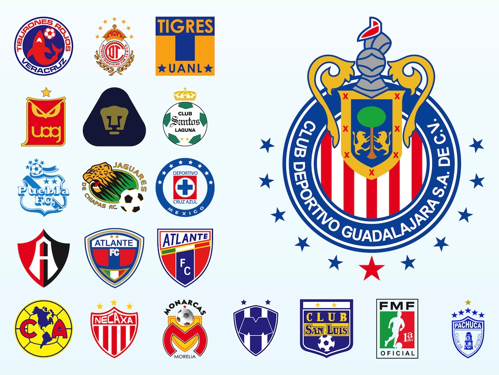 Mexican Football Logos Vector Art Graphics Freevector Com