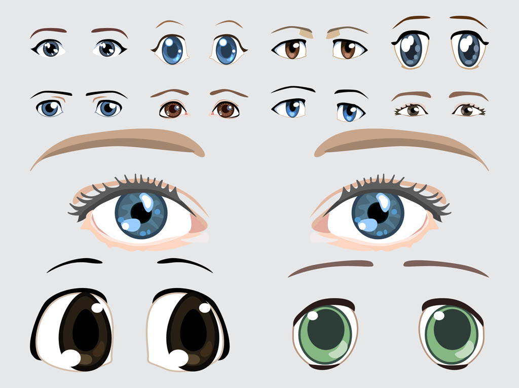 Eyes Vector Images