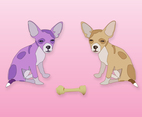 Little Dogs Vector