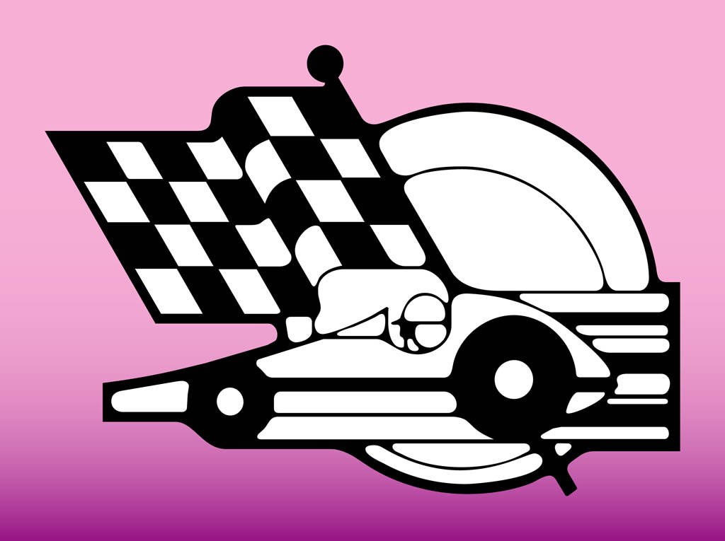 free race car flag clip art - photo #3
