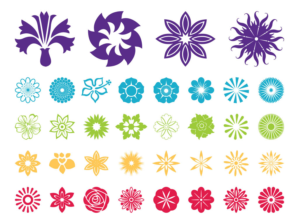 vector clipart flowers - photo #8