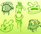 Graffiti Doodles Vector