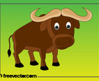 Cartoon Buffalo
