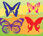 Butterflies Vector Graphics