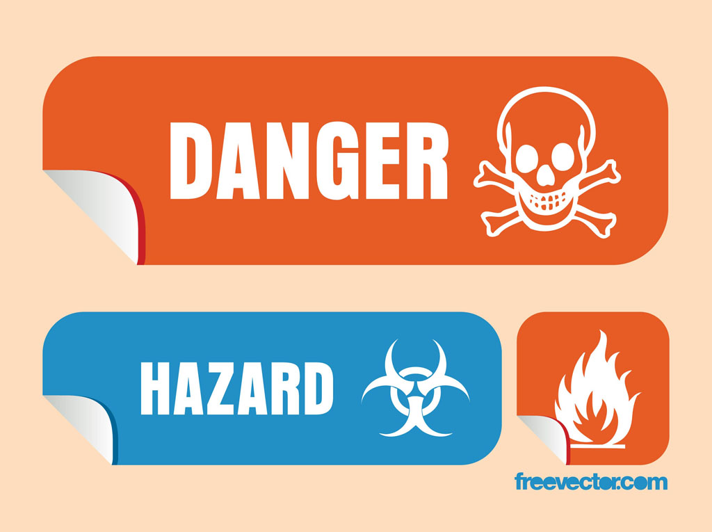 Danger Vector Graphics