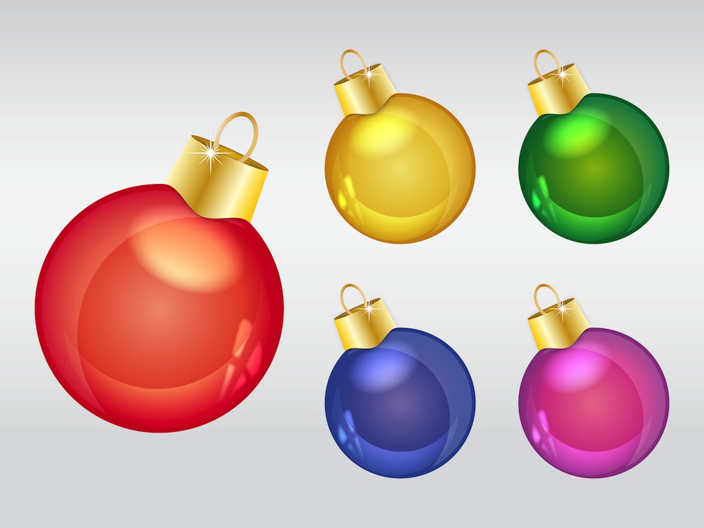 Christmas ornaments vector art graphics freevector