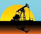 Oil Pump Silhouette