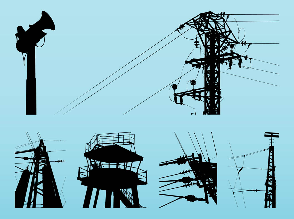 Transmission Towers Graphics